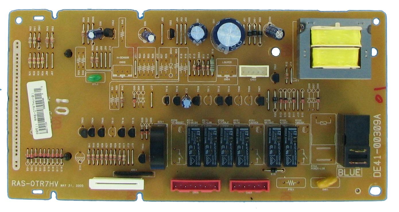 GE Microwave Control Board Part # DE41-00003A